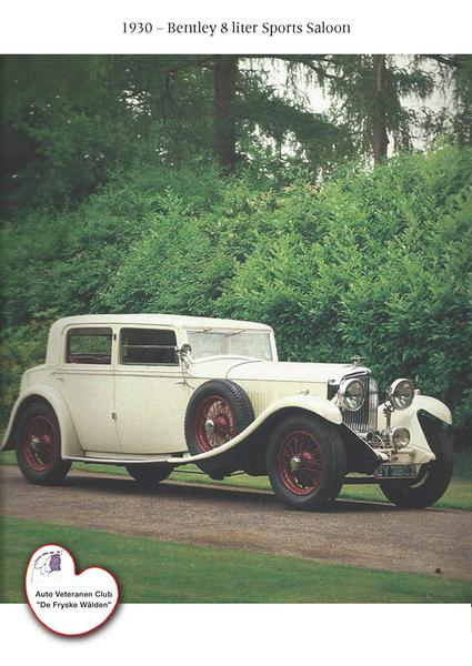 1930 - Bentley 8 liter Sports Saloon