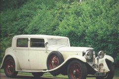 1930 - Bentley 8 liter Sports Saloon